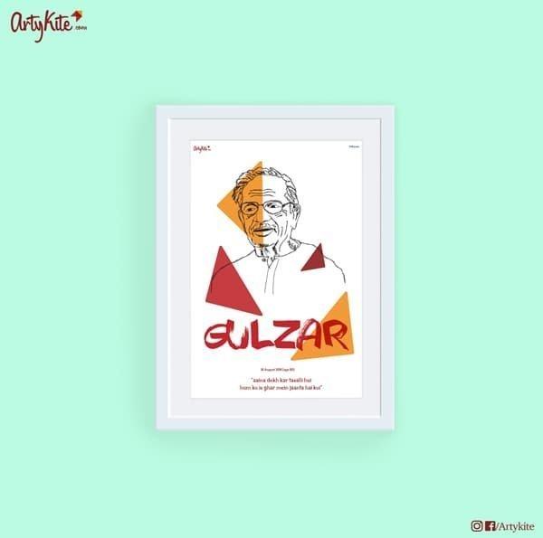 Aaina-dekh-kar-tasalli-hui-Gulzar-poster
