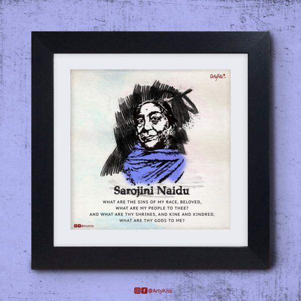 What-Are-Thy-Gods-To-Me-Sarojini-Naidu-Poster