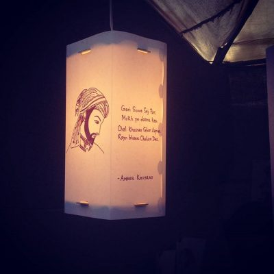 Amir-Khusro-Munshi-Premchand-Lamp|Gifts-for-book-lovers|Artykite