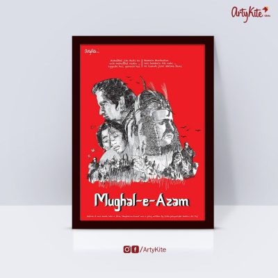 Mughal-E-Azam-Poster|Gifts-for-Book-Lovers|Artykite