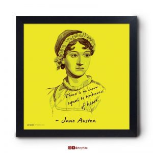Tenderness-of-Heart|Jane-Austen-Poster|Artykite