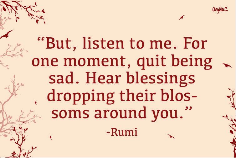 Rumi Quote | Artykite