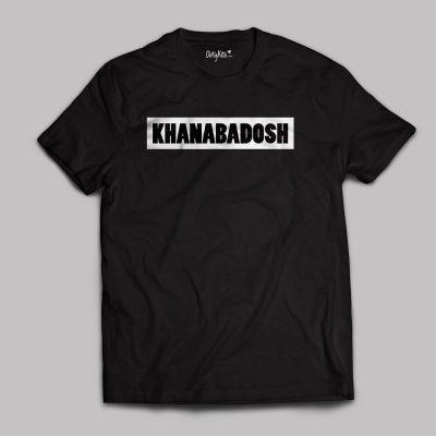 khanabadosh t shirt