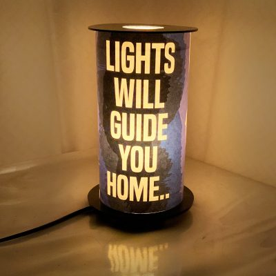 Lights will guide you home lamp
