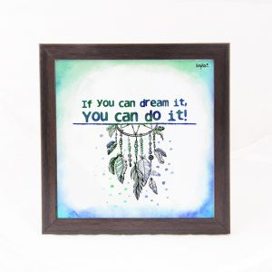 You can do it- Quote Frame