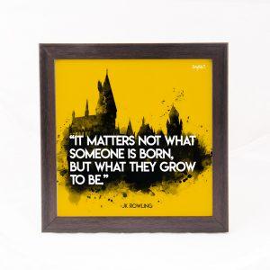 It matters not- JK Rowling