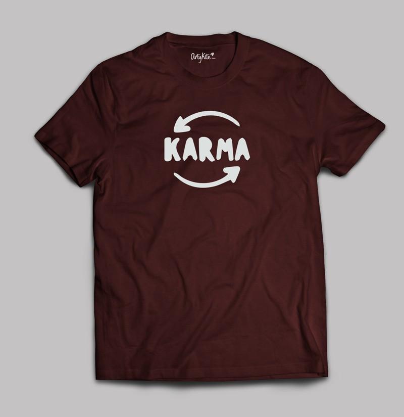 Karma- T shirt