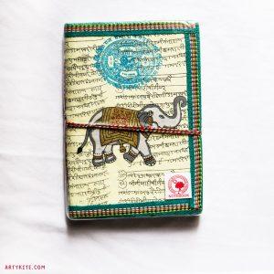 'Gajagamini' Handmade Paper Diary