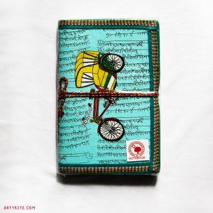 'Rickshaw' Handmade Paper Diary